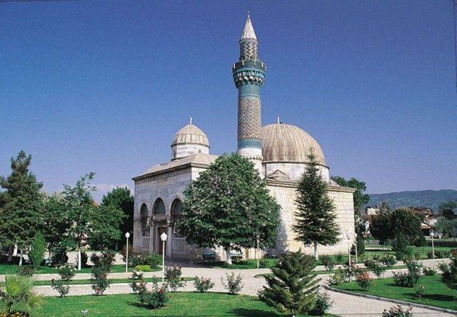 A Yesil mecset Bursa törökország