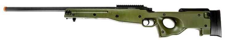 Airsoft Station - AGM L96 AWP Airsoft Sniper Rifle, Green, $78.95 (http://www.airsoftstation.com/agm-l96-awp-airsoft-sniper-rifle-green/)