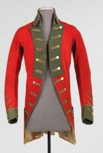 Военный мундир - 1730 г.