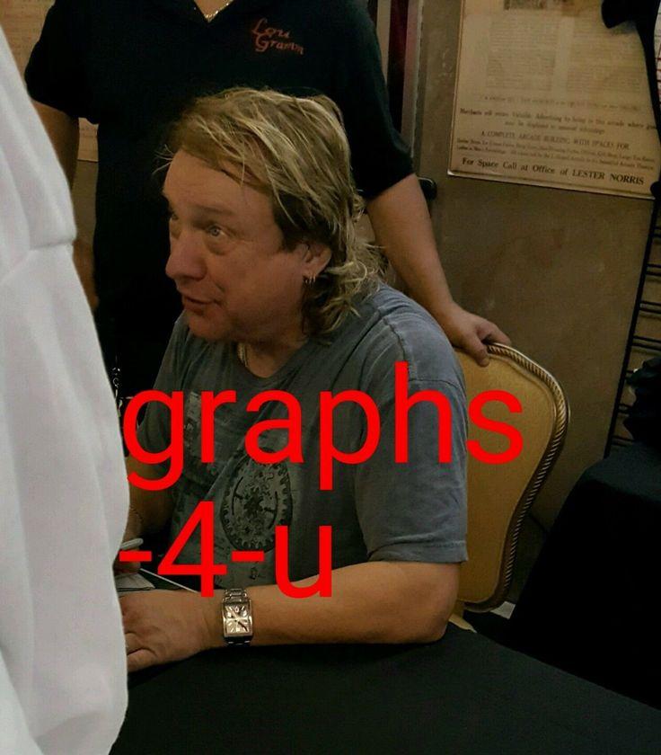 Lou Gramm Signed Foriegner Autograph COA proof b | eBay