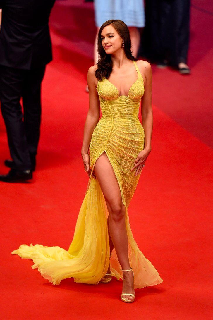 Irina Shayk Is Back on the Red Carpet and Hot Damn, Mama Looks Good