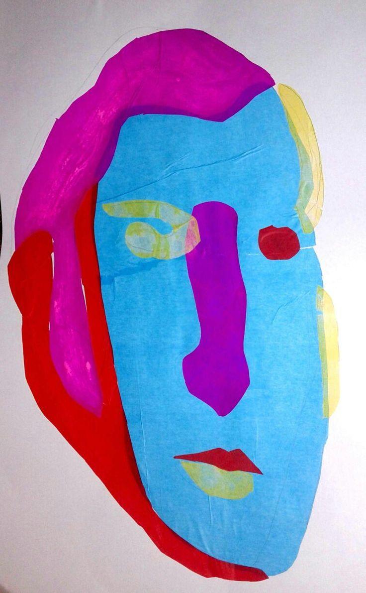trabajo final retrato personaje famoso chileno, Jose Miguel Carrera, papel volantin