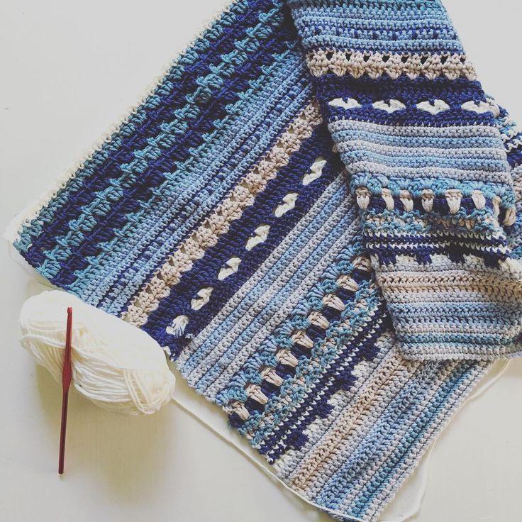 Projektet fortskrider, sakta men säkert 😍 #svartafåret #cal2016 #virka #virkat #virkad #crochet #hekle #häkeln #handmade