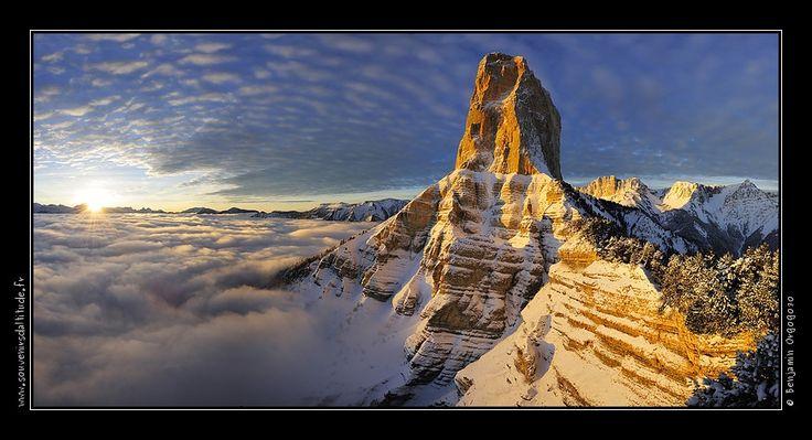 Majestueux Mont Aiguille
