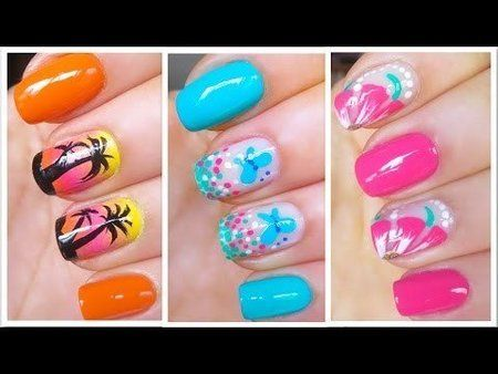 Cute Summer Nail Art Designs - Wonderful tutorials