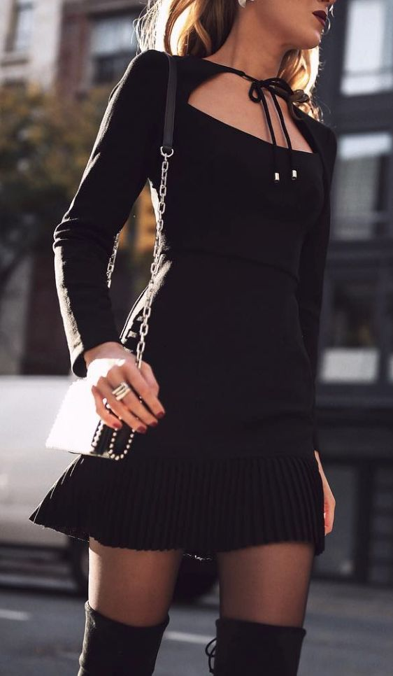 perfect little black dress for date night