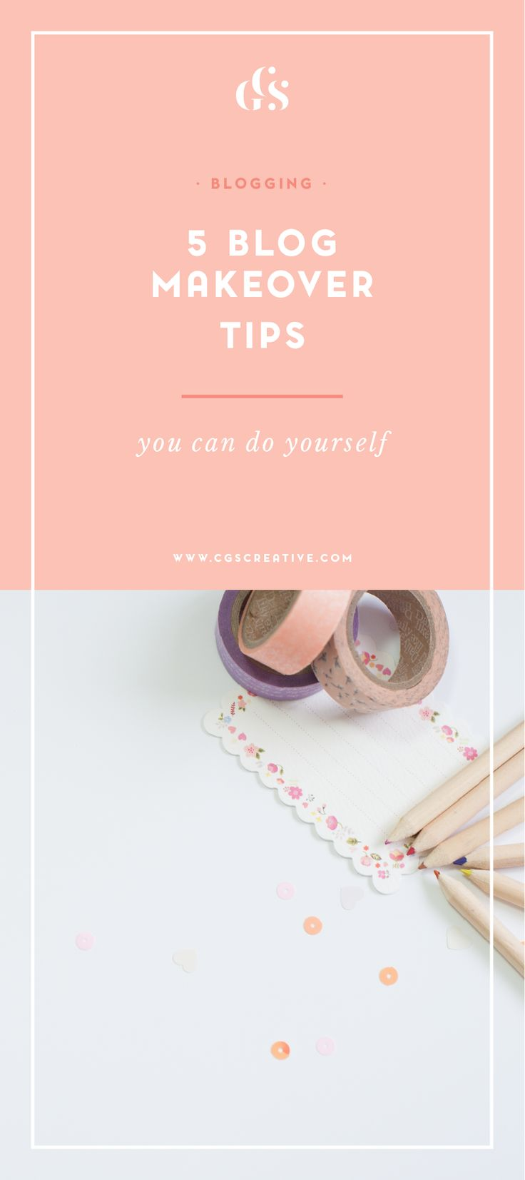 5 blog makeover tips - tips for making your blog look better and attract the right audience for you