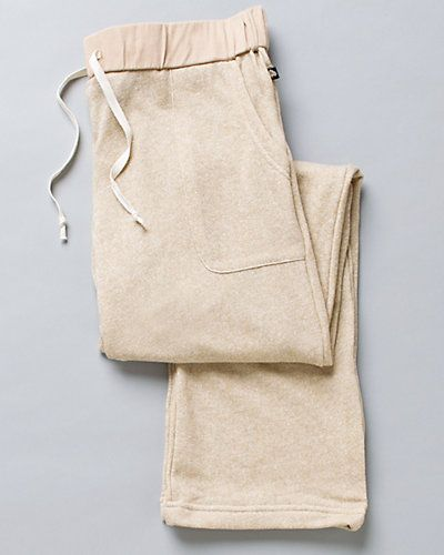 Aegean Apparel Wheat Sweatshirt Knit Lounge Pant