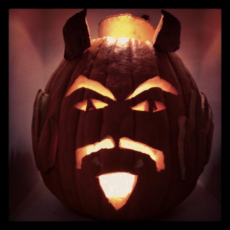 Pumpkin Carving Contest - The Search Devil