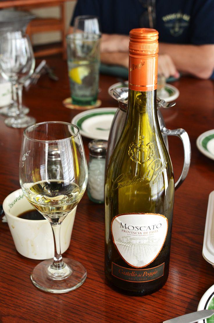 castello del poggio moscato provincia di pavia is on the wine list at olive garden a great