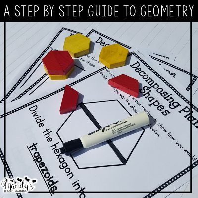 Tons of great ideas for teaching geometry!!