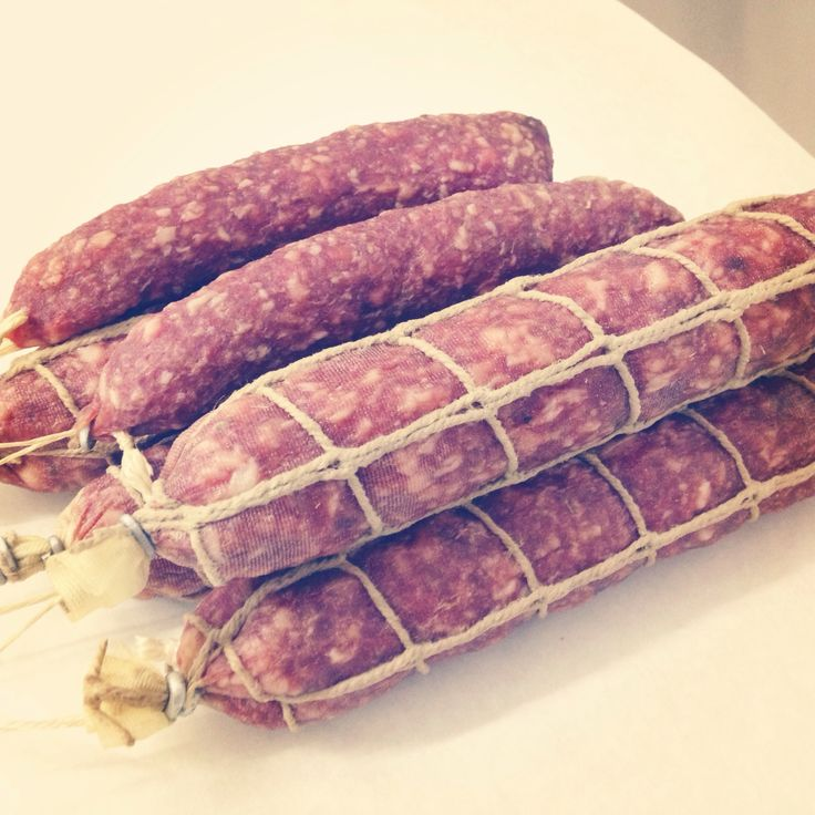 Our latest Salami - Salami with Fennel - going down a treat so far with our customers!