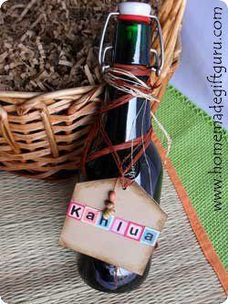 Homemade Kahlua in a Bottle