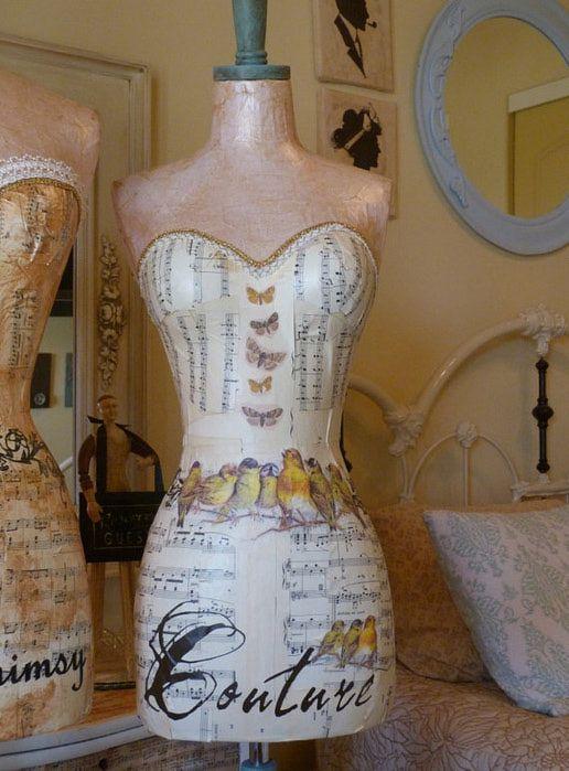 Прохладный проект делать со старым платье форме - Декупаж это!