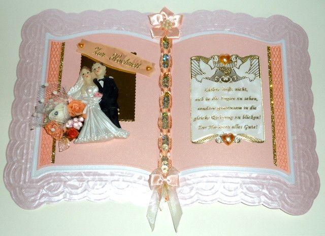 exclusive+Hochzeitskarte+XXL+Nr.+445+von+*M&M+Bastelparadies*+auf+DaWanda.com
