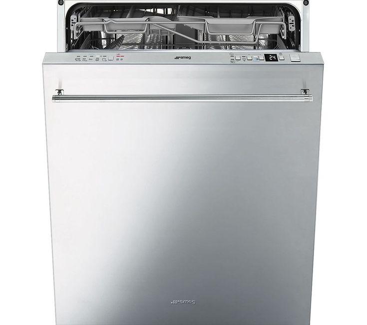 Buy a Smeg DI614PSS Fullsize Semiintegrated Dishwasher