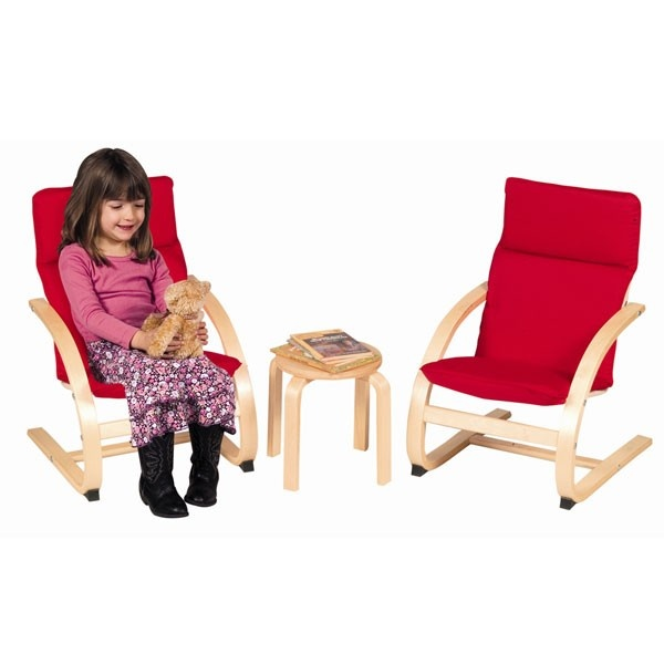 Guidecraft Kiddie Rocker Chair Set (Red)  K I D S  Pinterest
