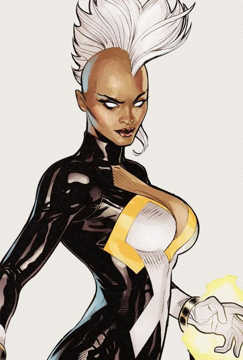 ironmini:  ↳ Storm from X-Men NOW cover by Terry Dodson