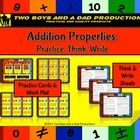 After students have been introduced to the Properties of Addition, they can now use product to:  •practice matching an addition number sentence to ...