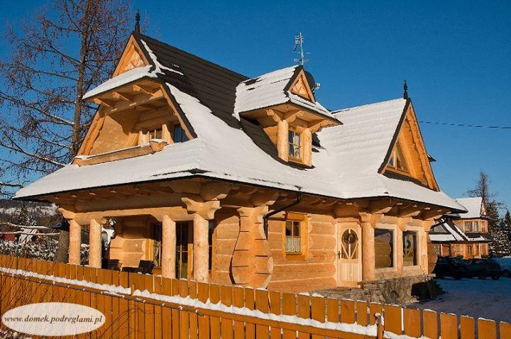 28 grudzień 2012 - zima w domku góralskim o poranku