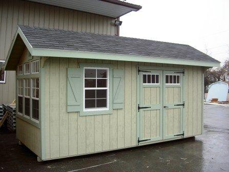victorian cottage storage shed