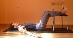 Домашняя тренировка для укрепления спины и мышц живота. Щадящая нагрузка!