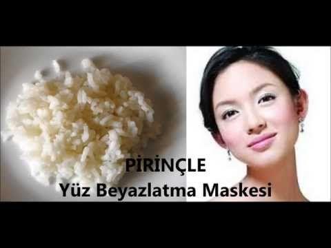 PİRİNÇ Maskesi   Muhteşem ve Pürüzsüz YÜZ İçin Pirinç   DOĞAL MASKELERİ - YouTube