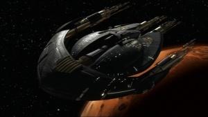 Ship of Marin Lloyd - Stargate SG1