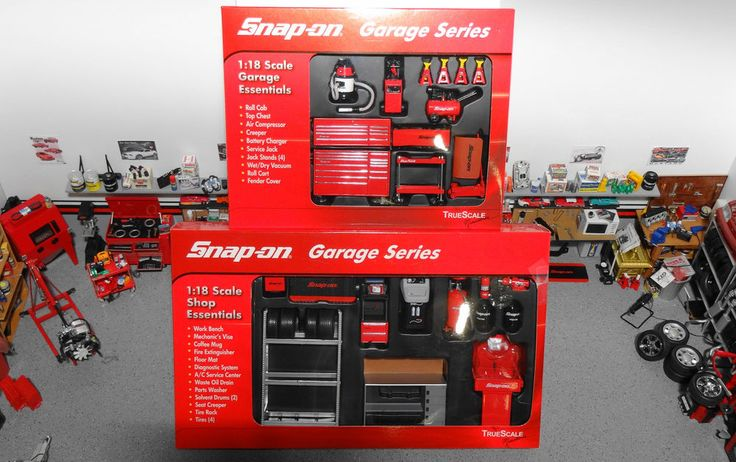1 18 snap on garage series 2 box kits only tools build for 4 box garage