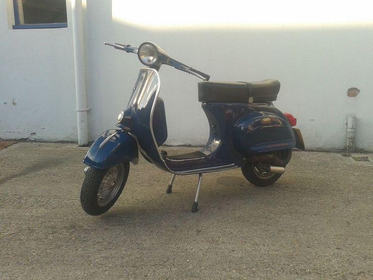 Vespa 125 Primavera ET3 Blue Jeans | eBay
