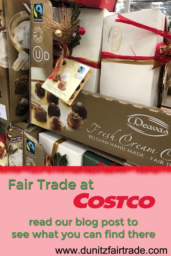 Hunting For Fair Trade Products At Costco With Images Fair