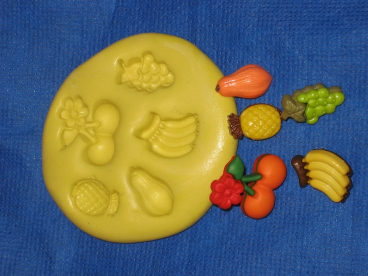 Pineapple Grapes Papaya Banana Cherrys Push Mold Candy Food Safe Silicone #321 by LobsterTailMolds on Etsy