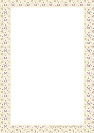 Hojas decoradas para imprimir en pdf imagenes para for Paginas decoradas