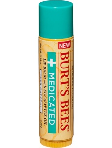 I have some fire ant bites and they were very itchy and I didn't have anything for bug bites to put on them so I used some Medicated Burt's Bees Lip Balm.  The itching stopped and they are starting to clear up!  It's a great discovery!