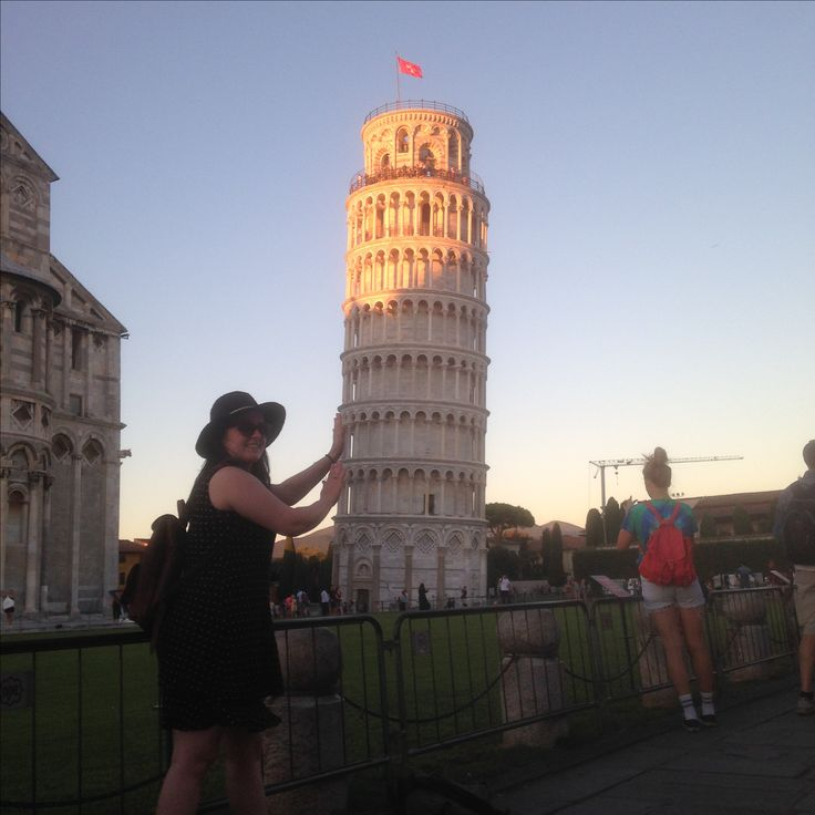 Leaning Tower of Pisa, August 2016