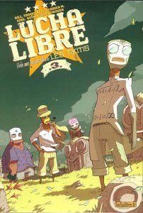 Lucha Libre Comics Kissing | Lucha Libre