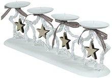 """Dekoracyjny świecznik na 4 świece """"Christmas Stars"""""""