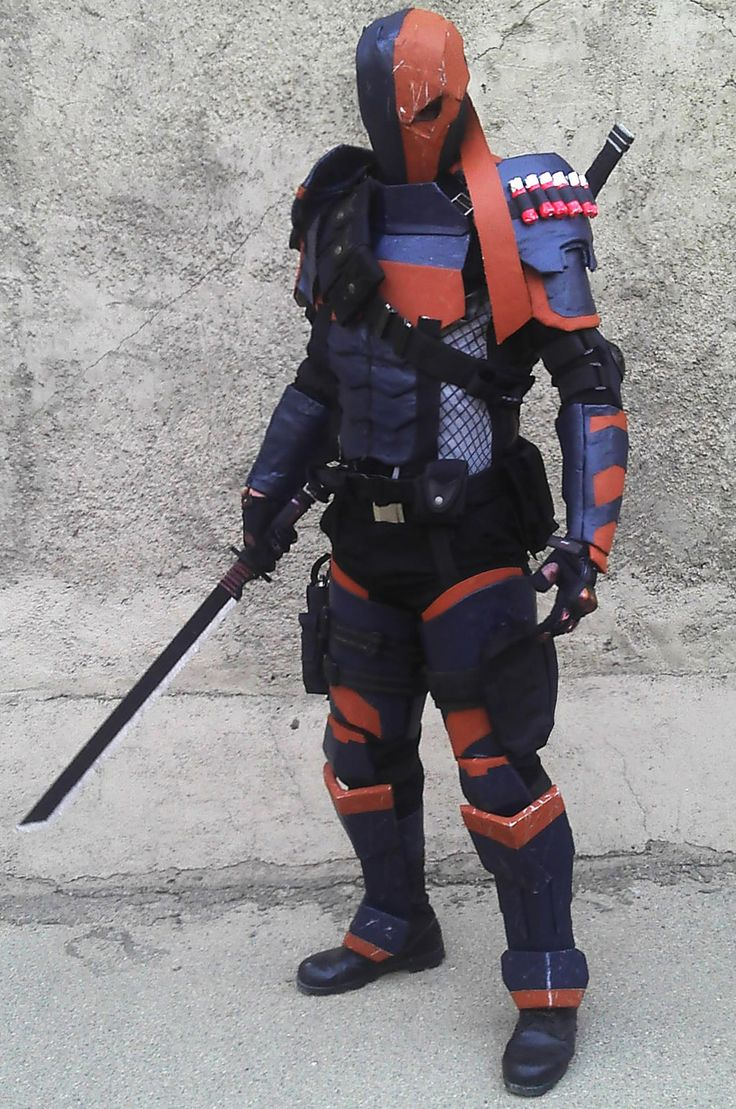 deathstroke arrow cosplay-#8