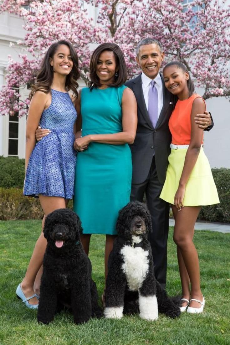 Michelle Obama and the First Family looked incredibly stylish on Easter Sunday, obviously