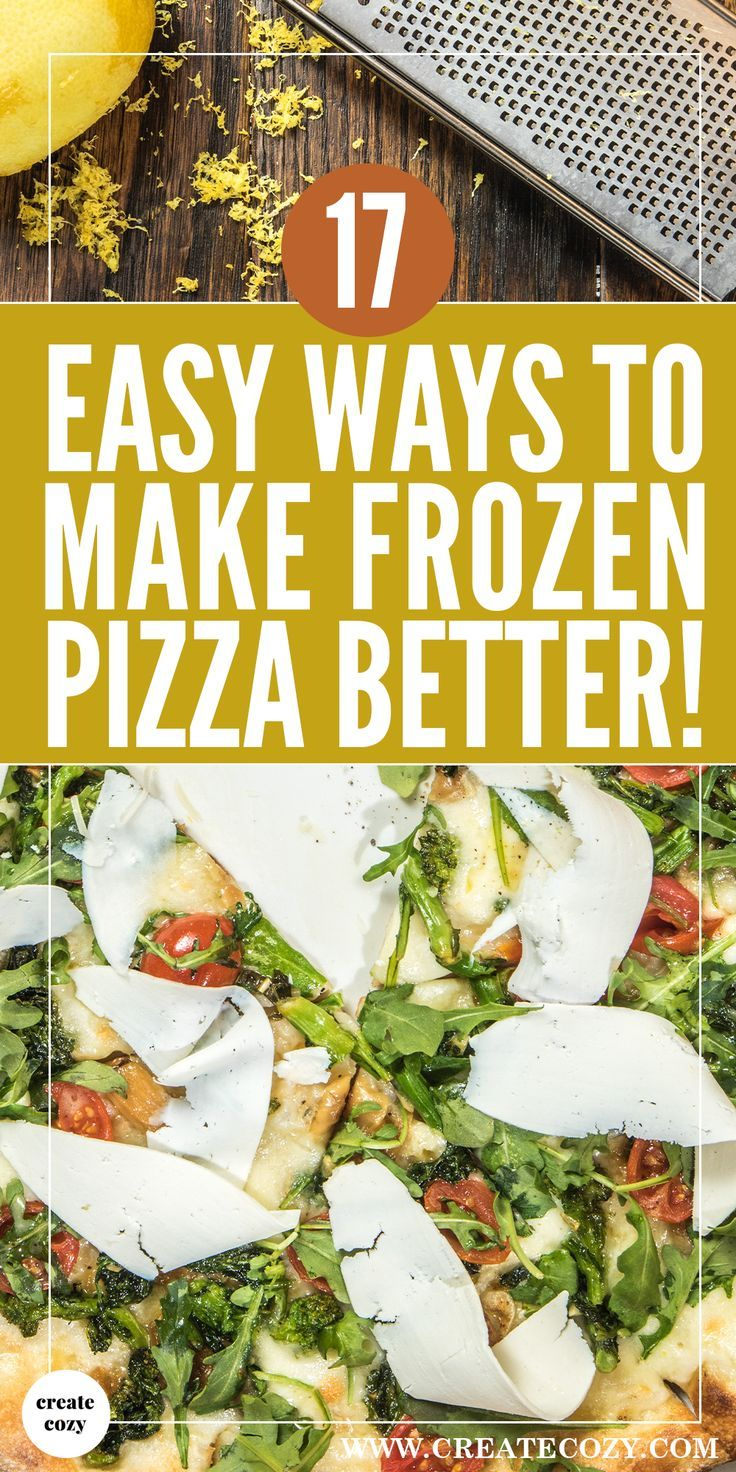 Easy ways to improve the taste of frozen pizza using ingredients you probably already have in your kitchen
