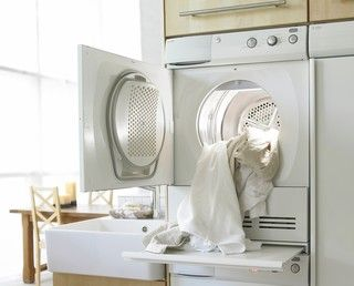 shelf----do that ...so smart...Asko dryer...the built in shelf that pulls out..is that part of dyrer or part of cabinet system??  Laundry Products - page 2