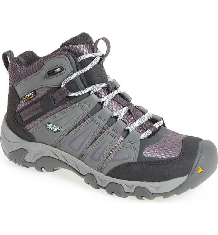 Main Image - Keen 'Oakridge' Waterproof Hiking Boot (Women)