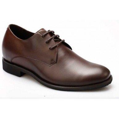 Stylish Men Dress Genuine Leather Height 2.56inch Increasing Italian Elevator…