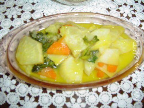 Portakallı Kereviz Tarifi - Nefis Yemek Tarifleri