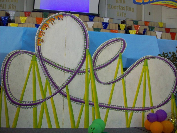 colossal coaster world | VBS 2013 - Colossal Coaster World / Idea for Backdrop