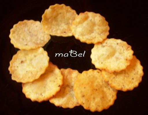 Patatas pringles caseras en 5 minutos ~ Pasteles de colores