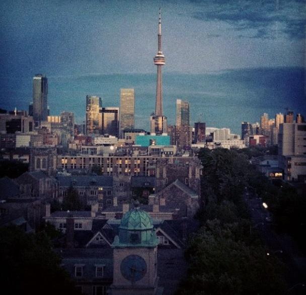 University of Toronto, City view