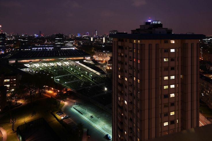Ampthill Square Estate with Euston Station, Somers Town   Flickr - Photo Sharing!