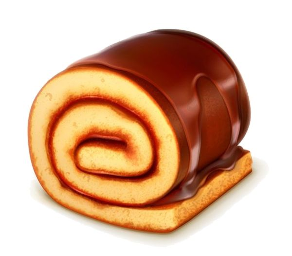 Cake Roll Art : gateaux,tube Food Art Pinterest Food illustrations ...