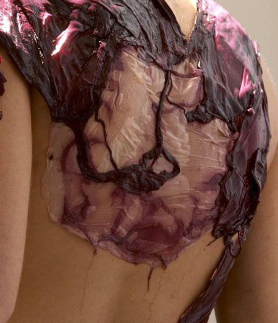 "Fermented Fashion: A New Dress Made of Microbes from Wine. | elephant journal  {""Micro'be' fermented fashion investigates the practical and cultural biosynthesis of clothing—to explore the possible forms and cultural implications of futuristic dress-making and textile technologies.    Instead of lifeless weaving machines producing the textile, living microbes will ferment a garment.""}"